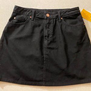 Jean skirt (Black)
